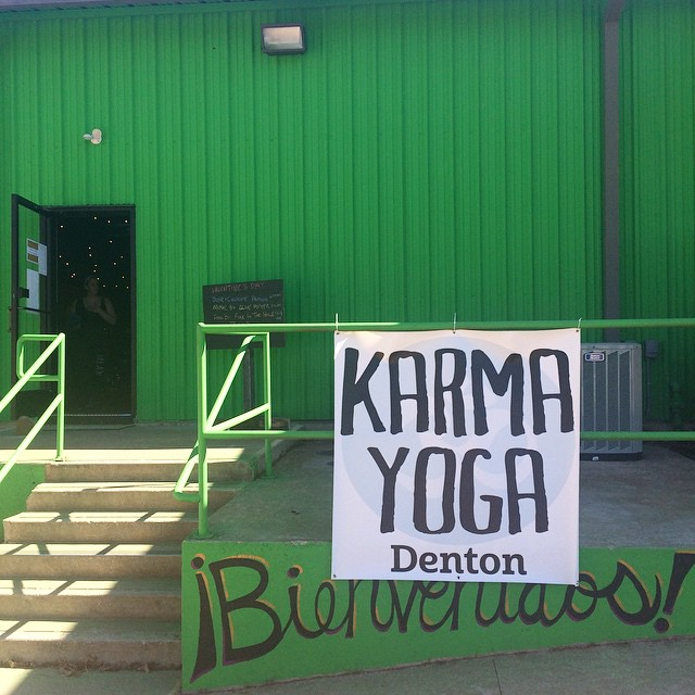 Have you checked out Karma Yoga at Audacity Brew House yet?