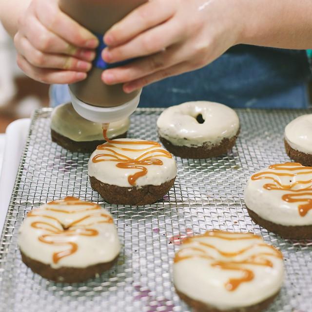 Time to make the donuts at Hypnotic. Photo by @MelodyAsgari.