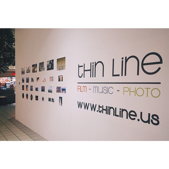 The Thin Line gallery at the Golden Triangle Mall (complete with images from UNT's fine art photography group, Parallax) gave us reason to trek over to 288.