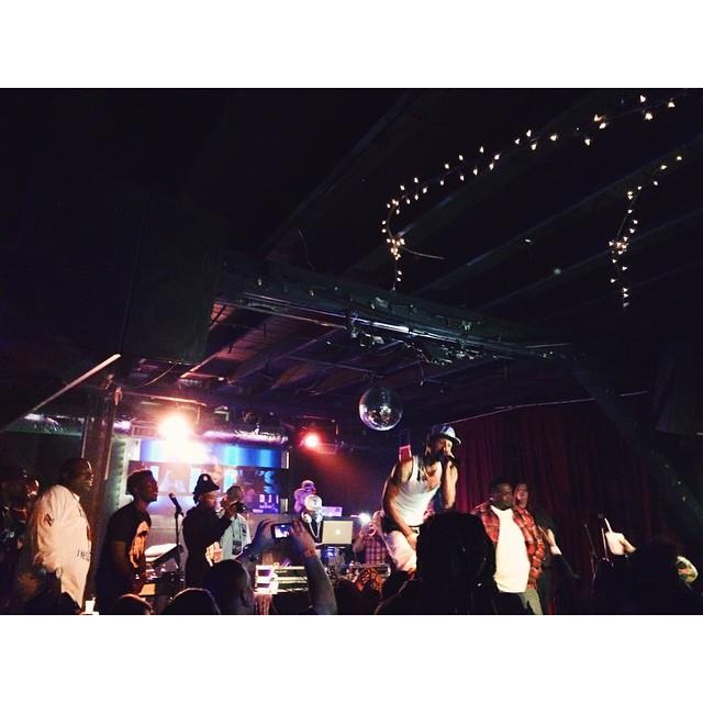 @35Denton showed some festival love.