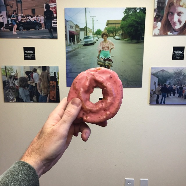 Let's end with a donut and a photo gallery of Denton's past. Thanks, @mbryceo!