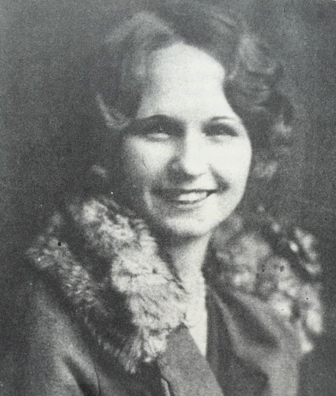 The young Caro Crawford, a rebel who made the most of her time in Denton.