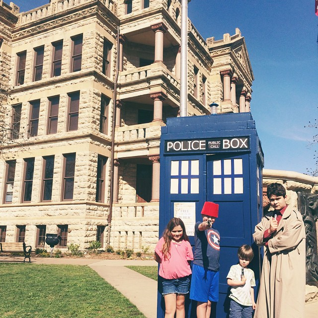Saturday was Doctor Who Day in Denton. Like officially and stuff. It had a proclamation and everything. Did you get your copy yet? Thanks again, More Fun Comics and Games!