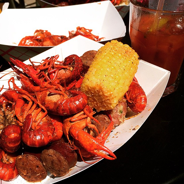 """We had a friend recently move to the Pacific Northwest where they call crawfish """"crayfish,"""" and they're a big problem. Here, we just boil 'em with corn and potatoes and it isn't a big deal. They could learn a thing or two."""