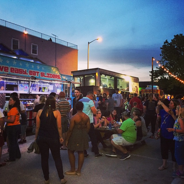 Last week's Food Truck Fest was insane! Over a dozen trucks and hundreds of people.