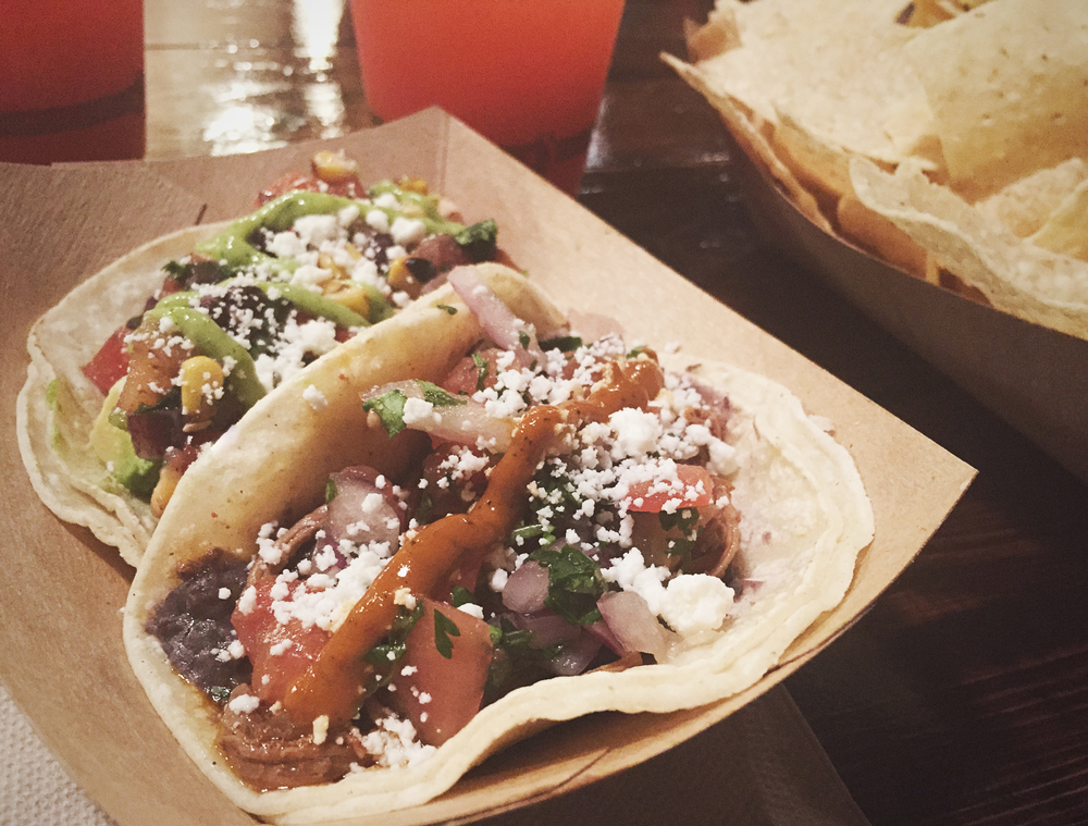 Flatlander's Taco Company held their soft opening over the weekend. We swung by and had a few delicious tacos and some chips and salsa. They'll be officially open with their full menu on Wednesday.