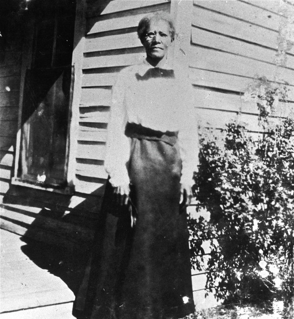 """Auntie Angeline"" was a beloved midwife to many a Dentonite. Photo from DentonHistory.net."