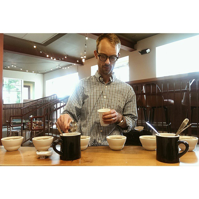 Surprise cuppings at Cultivar.
