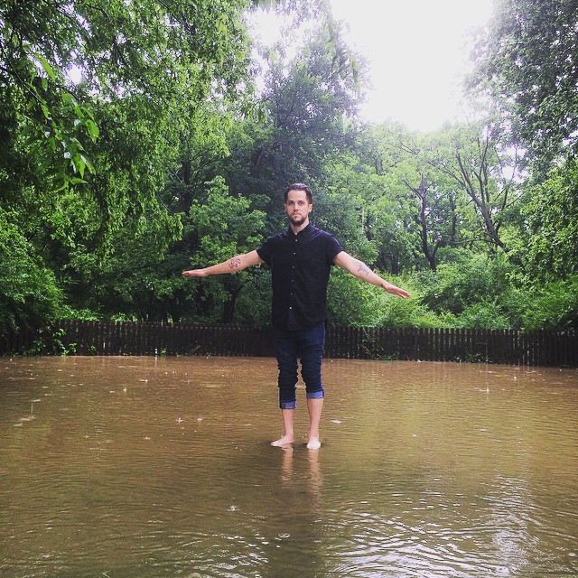 @johnnymoon98 and some overflowing creek.