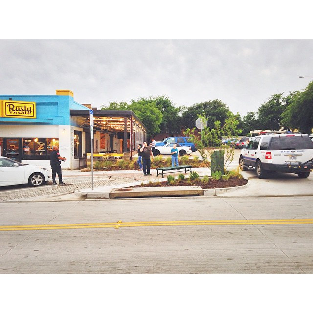The Sheriff's dept. infamously did not back in angle park on their way to get tacos last week. This is a photo of some other folks getting tickets for the same thing. We would have the original photo, but it wasn't tagged #WDDI. Ho hum.