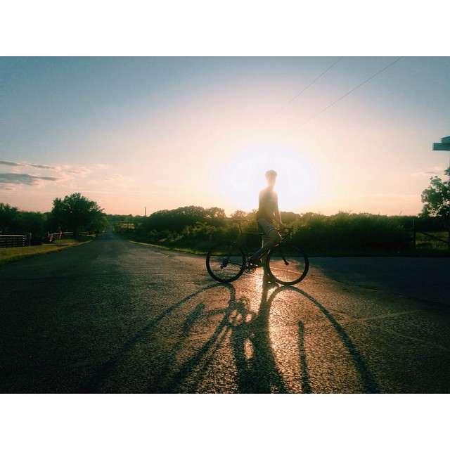 Bikes and light by @crujonesisradd.