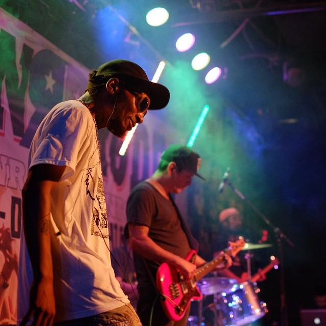 Deltron 3030 at Rockin' Rodeo last week.