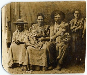 Old school pioneer Mammy as family heirloom nanny was how slavery looked for many pre-1865 North Texans, not expansive plantations.