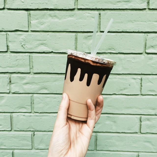 Espresso milkshake courtesy of @jadewintersee.