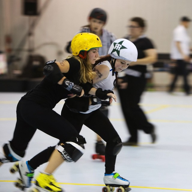 Roller Derby at House of Quad last week.