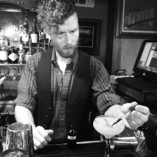 He's the bartender Denton deserves.
