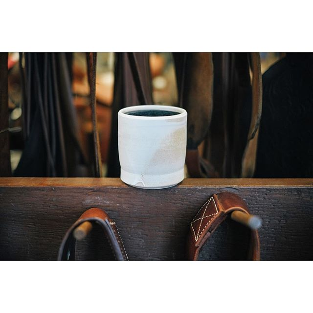 Ceramic coffee mugs from Bell & Oak will be here before you know it!