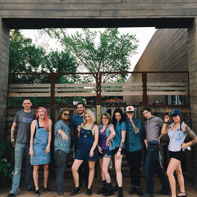 Denim Saturday at Harvest House again. Via @OliveSimons.