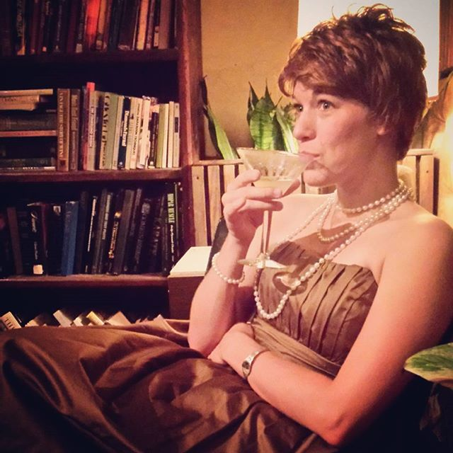 Dressing up in vintage attire and delightful cocktails at Paschall bar? Count us in. Photo via @DentonKate.