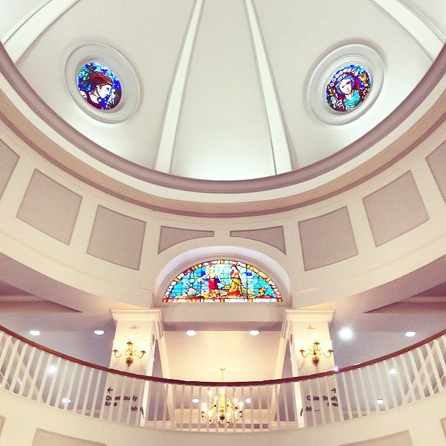 Yes, TWU's library really is this beautiful. Photo from @pursuit.of.beauty.