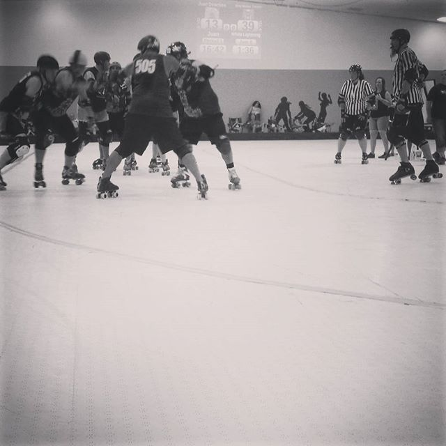 Scenes from Saturday's Roller Derby championship by @DentonKate.