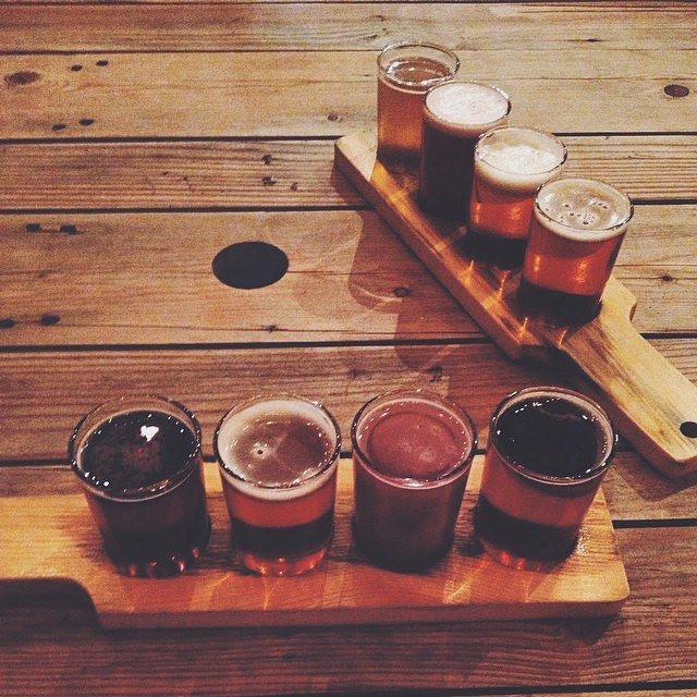 These beer flights from Audacity Brewhouse look amazing. Thanks for sharing, @ShopDenton!