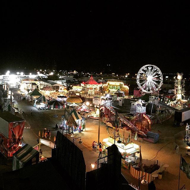 @veronica_n_denton's view from the North Texas State Fair last week.