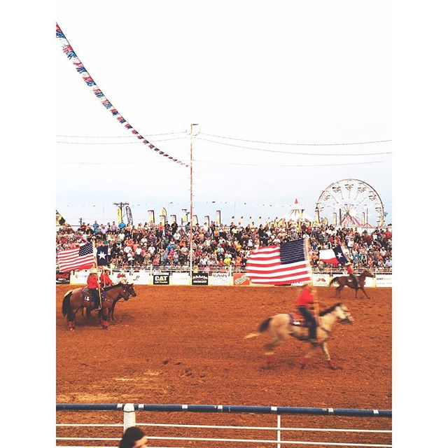 @kayceeleigh_ with some rodeo fun.