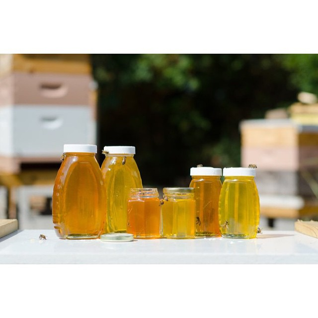 @JayHumez got to shoot (and check out) honey from #WeBeeKeepin.
