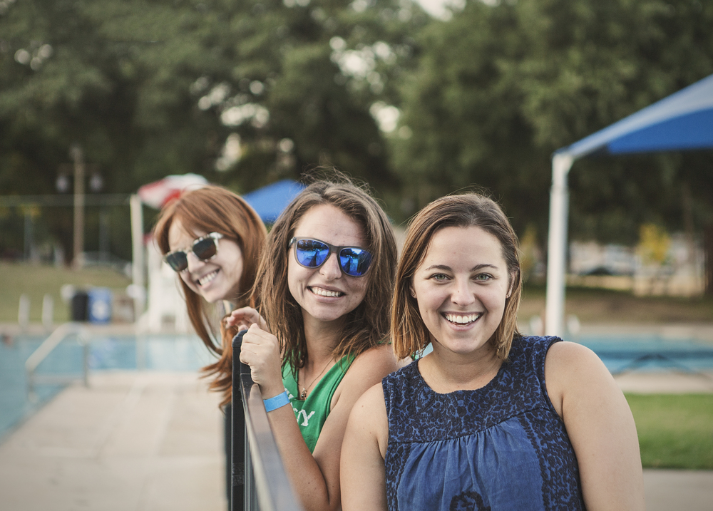 Alyssa Stevenson, Danielle Marie Longueville and Jessica Milne.