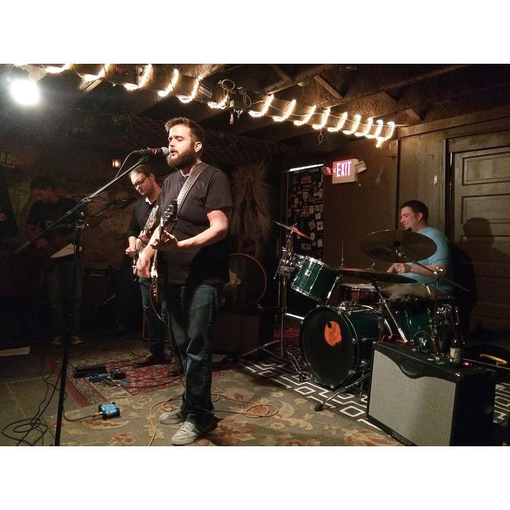 Bo Aughtry and company at J and J's Old Dirty basement on Saturday night. @therachelelise