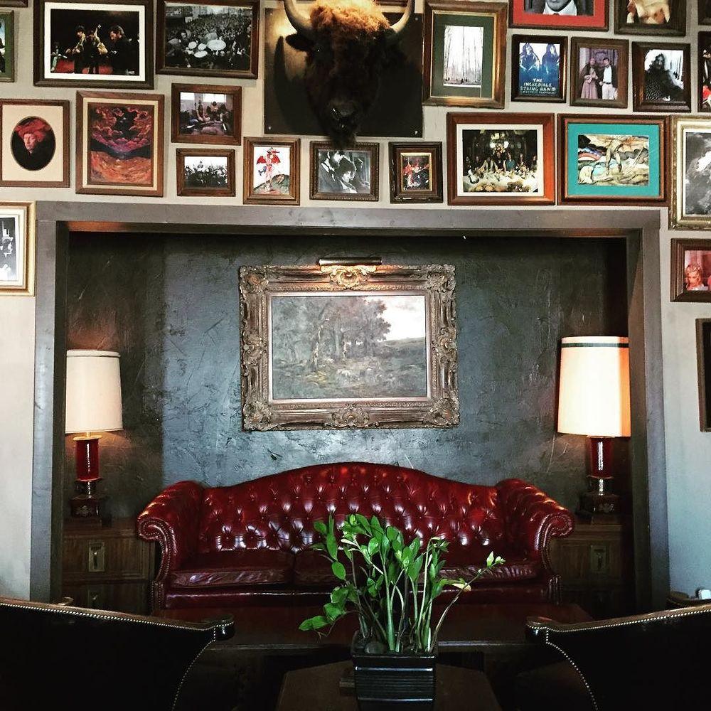 Paschall Bar is still Denton's most beautiful bar. Have y'all tried their new drink menu yet?@joeymcclellan