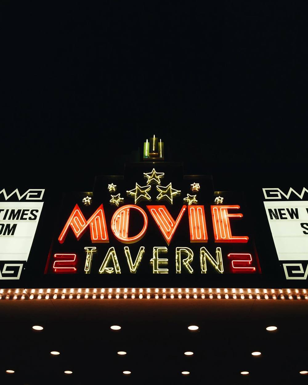 @rowdybridges at Movie Tavern. We're excited that they've started construction on their expansion.