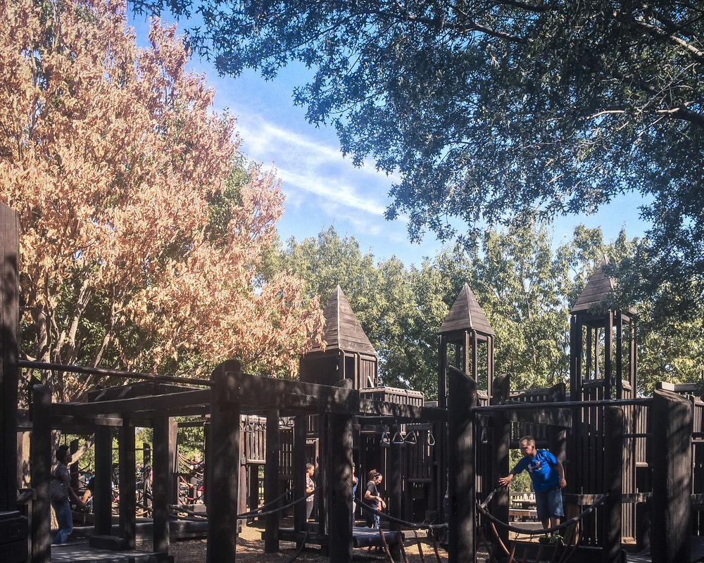 Today marks the end of Eureka Playground. Many were out yesterday to enjoy the wooden castles while they still stood. While we're sad to see it go, we're excited for Eureka 2!