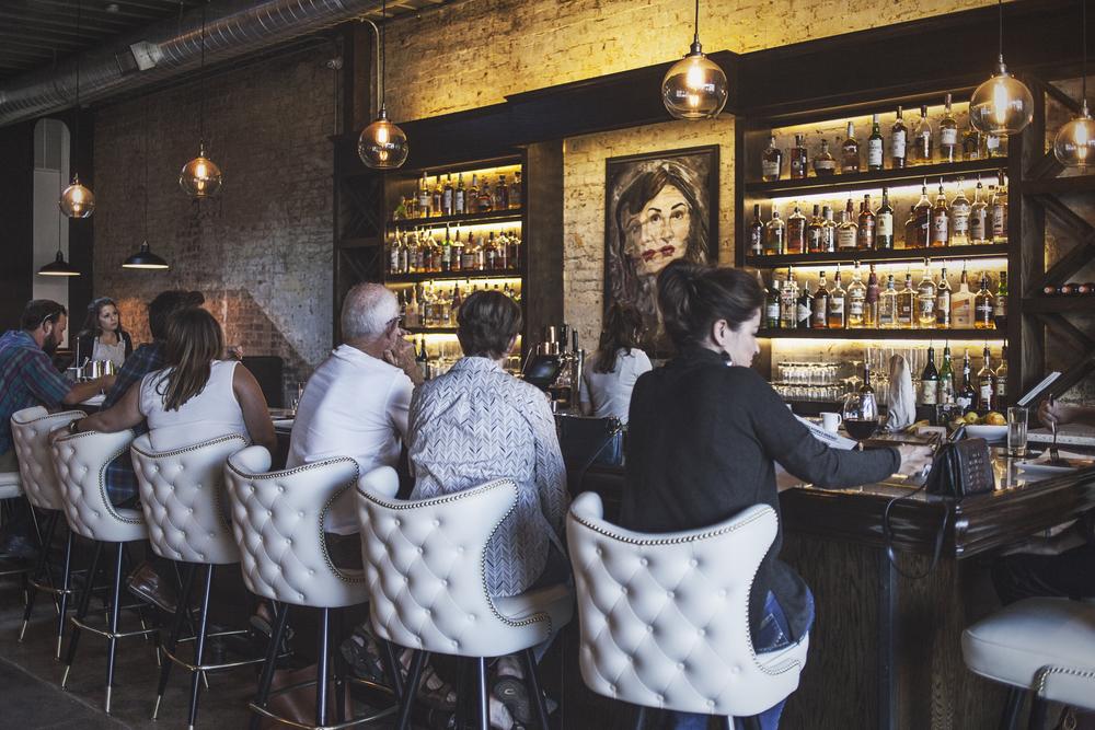 The bar at 940's.