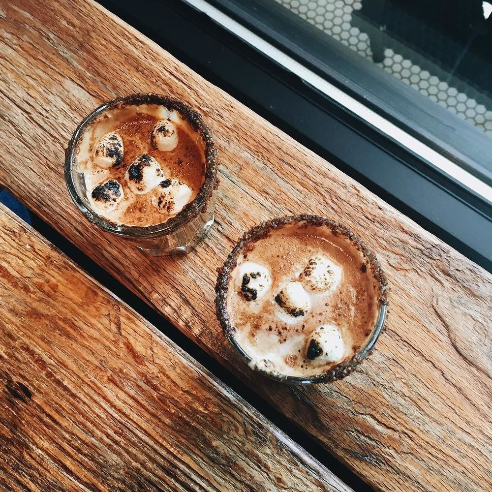 Campfire cortados are the official drink of Denton this fall.