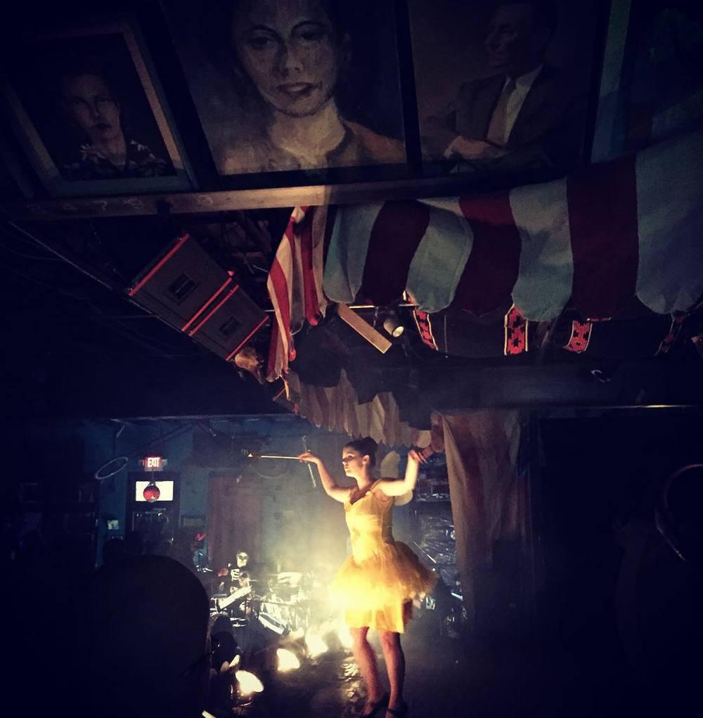 Cirque Du Horror at Dan's Silverleaf. Image by @megrussey.