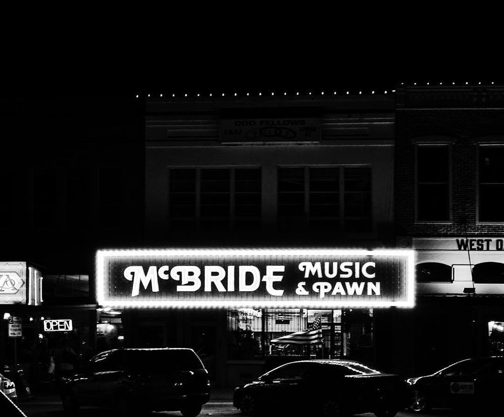 McBride's you got some bright lights. @wedentondoit