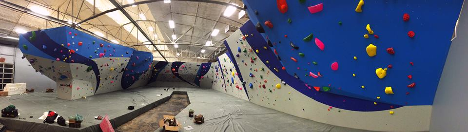 Summit Climbing Gym on Oak St. is open for business!