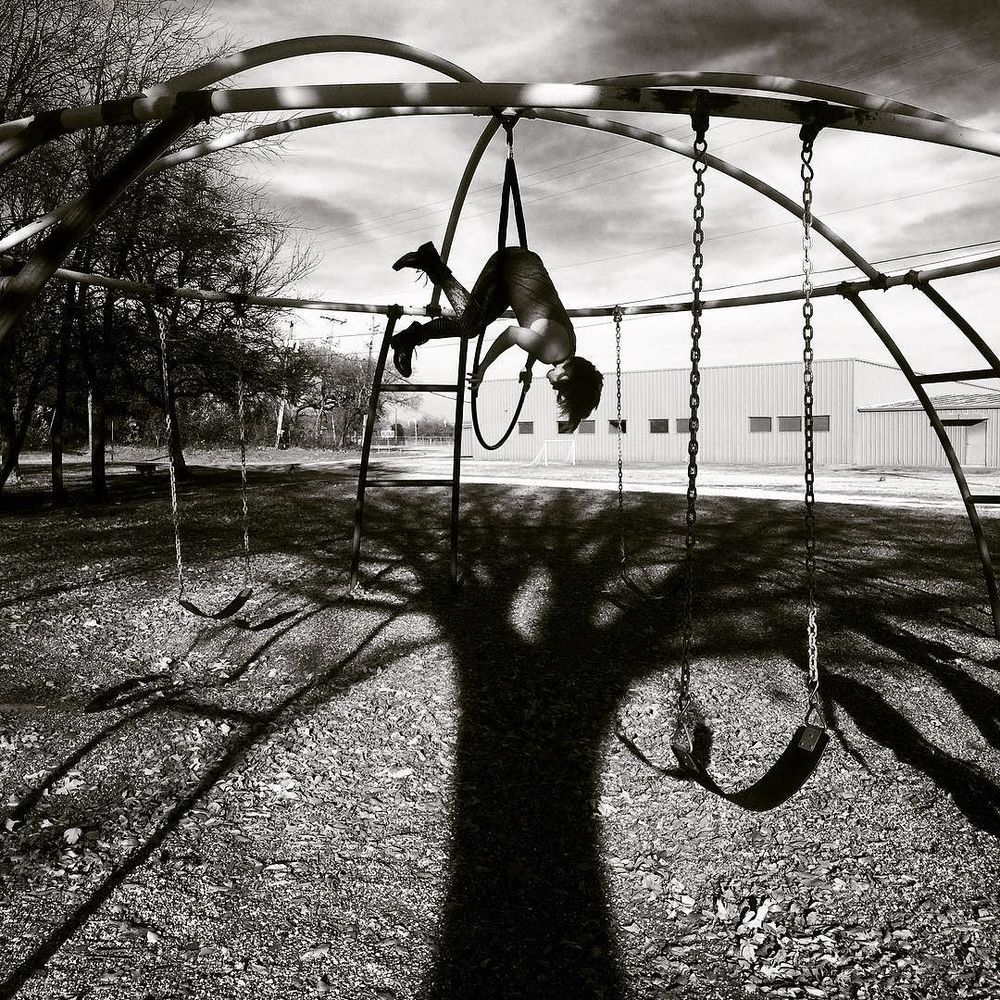 @twistedcarissa and some black and white playground.