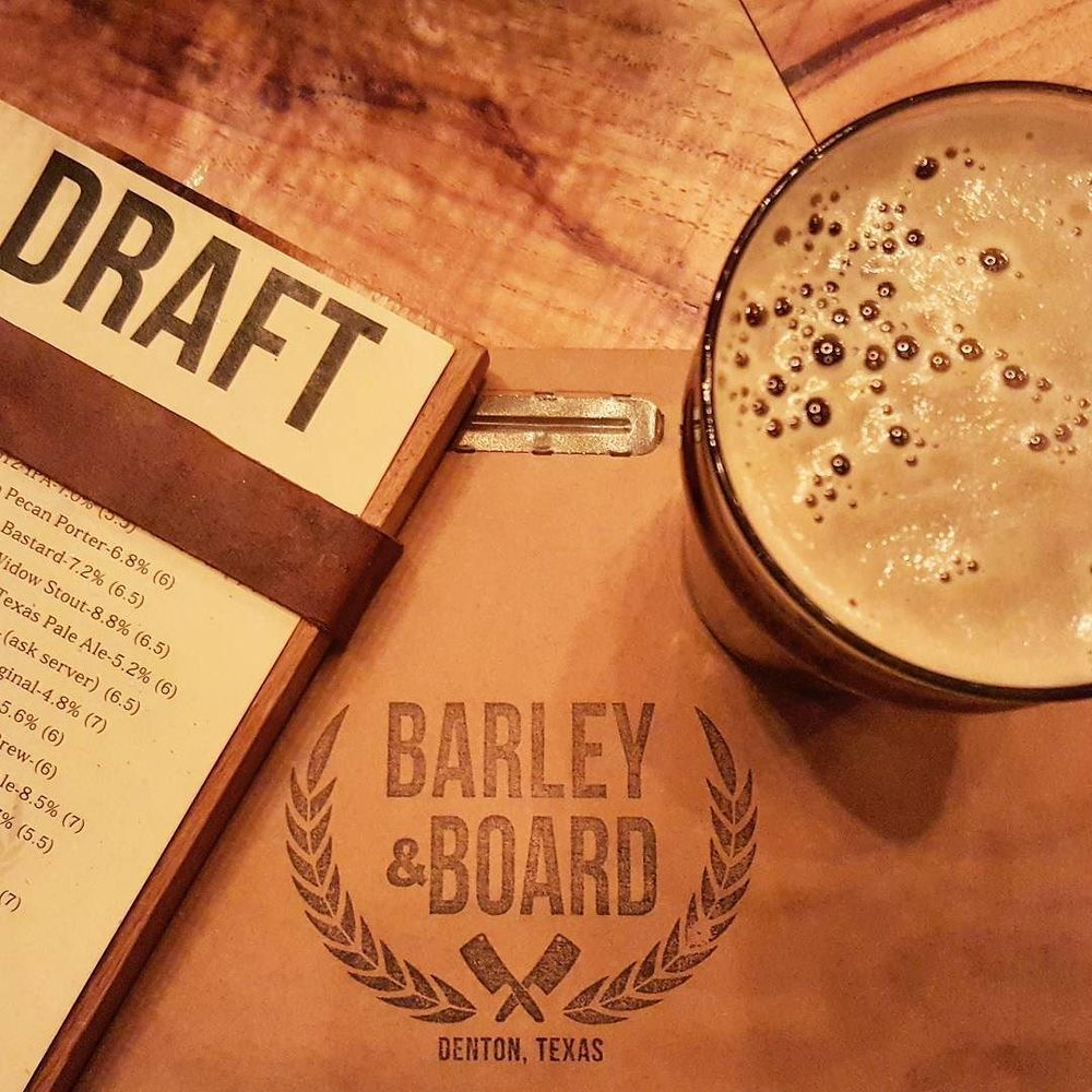@greatamericanbrewerytour stopped by Barley & Board.