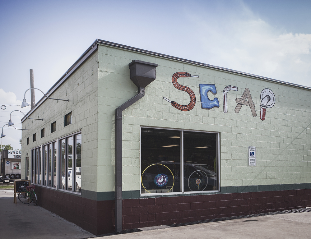 SCRAP has been at their new location on Bell for an entire year now!
