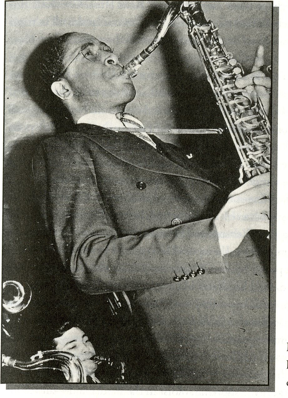 Saxophonist Herschel Evans pioneered a Texas Tenor Sax sound that can still swing.