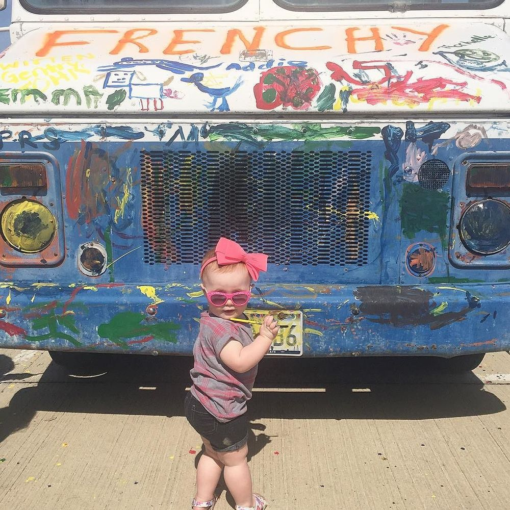 Touch a Truck held their second annual event outside C.H. Collins Athletic Complex over the weekend. Many trucks were touched, as well as hearts. Photo by @mbryceo.