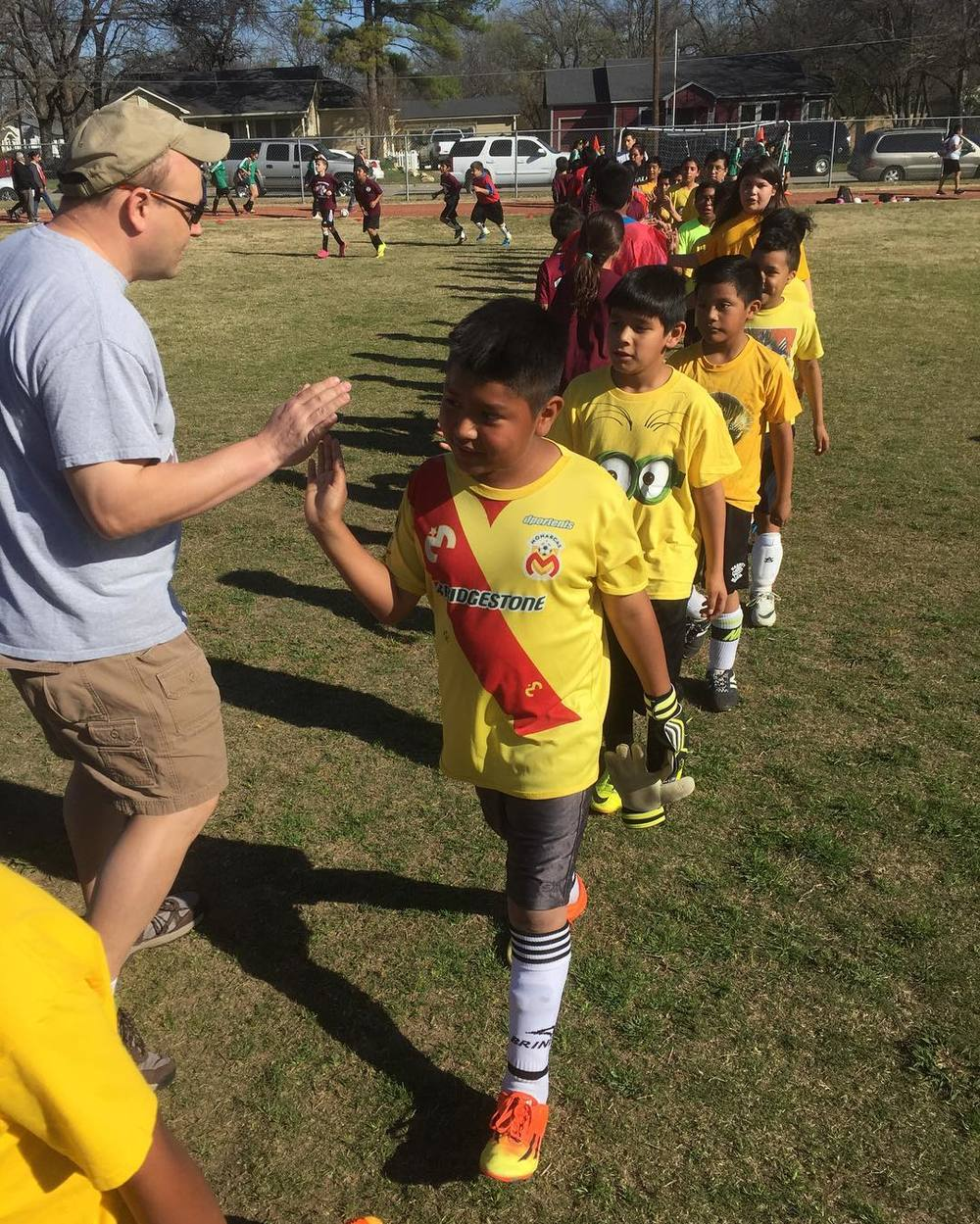 The first ever @denton_goal elementary game. Wanna learn more about GOAL? Click here.