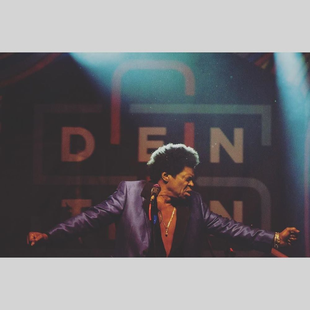 Awesome shot of Charles Bradley at 35 Denton. Photo shot by @jayhumez.