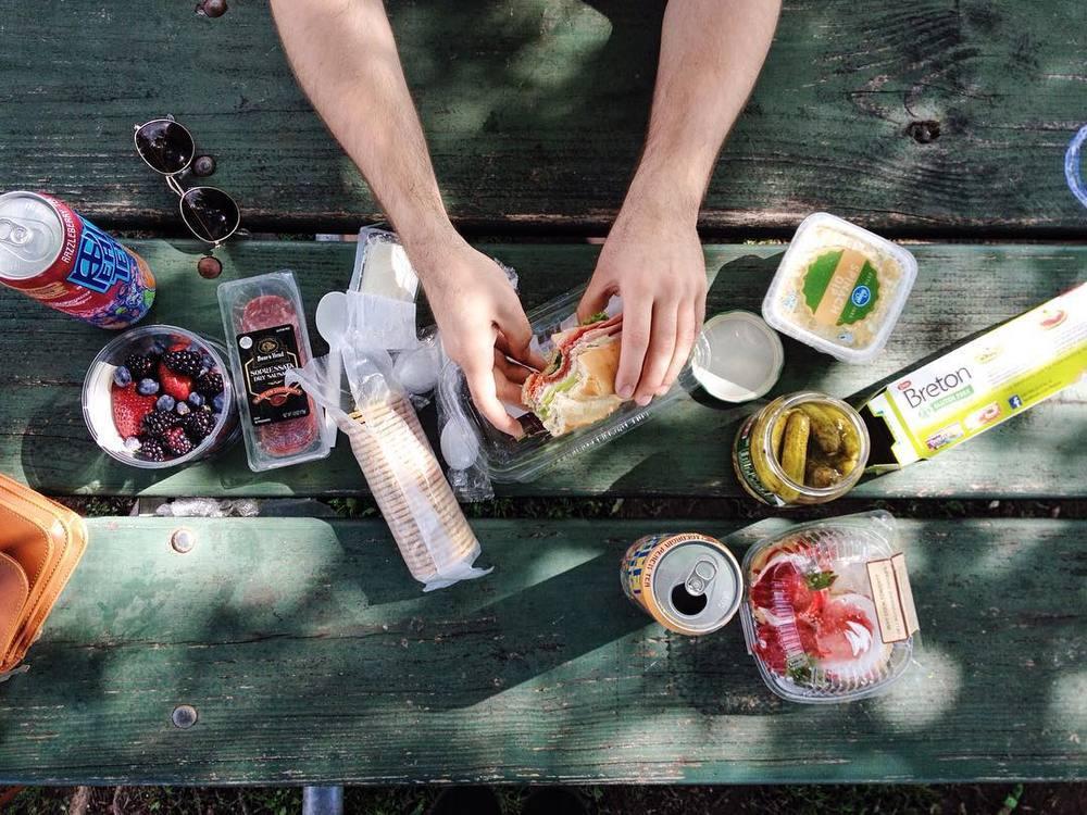 @lynzi.lucas had a picnic.