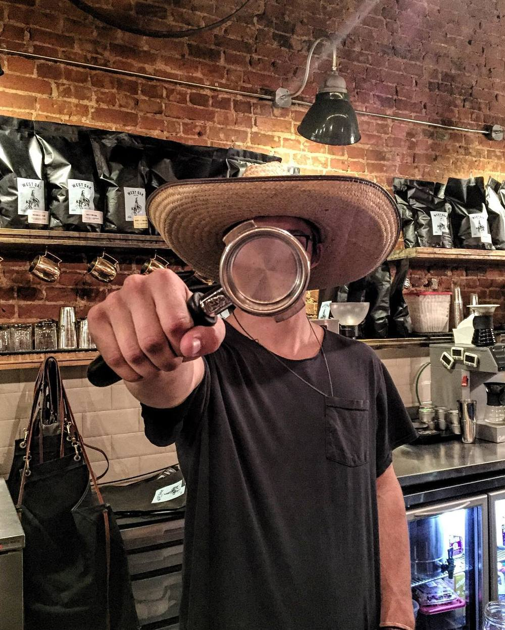 Cinco de Mayo at West Oak Coffee Bar from @austinclaiborne.