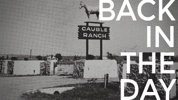 The Rex Cauble Ranch plays a big role in Denton's outlaw history.