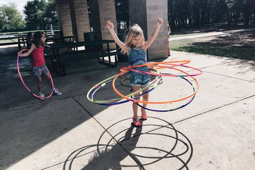 @kkbigley documenting some impressive hoopin'.